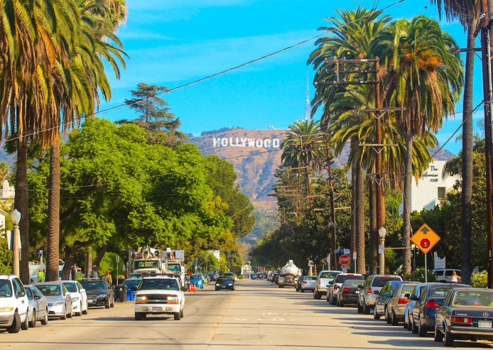 One Month in Hollywood Los Angeles